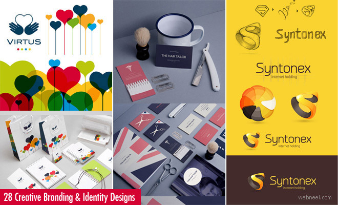 25 Creative Branding and Identity Design examples