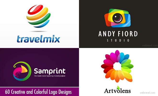 40 Attractive Colorful Logo Design Examples for your inspiration