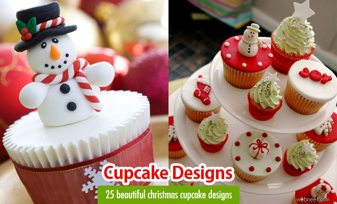 Cake Designs Ideas wedding cake design ideas 10 screenshot 8 25 Beautiful Christmas Cupcake Decorating Ideas For Your Inspiration