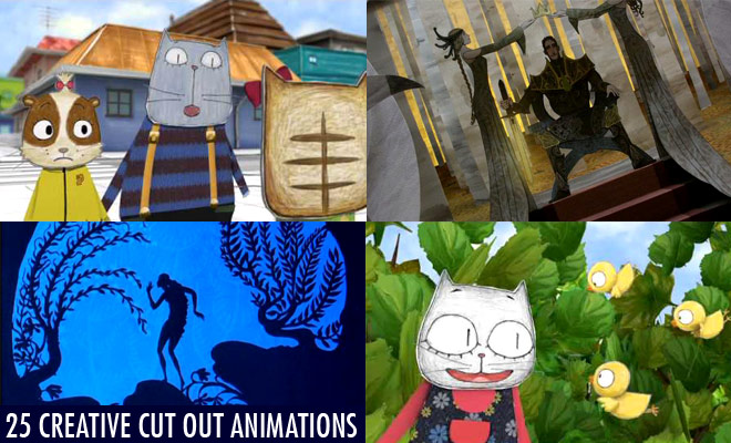 25 Best and Creative Cut out Animation Videos for your inspiration