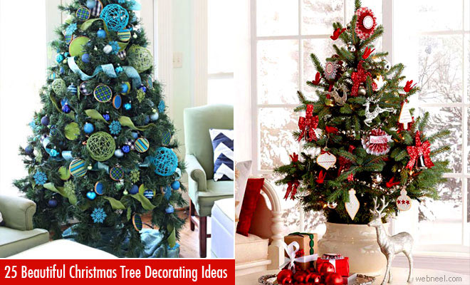25 beautiful christmas tree decorating ideas for your inspiration - Beautiful Christmas Tree Decorations