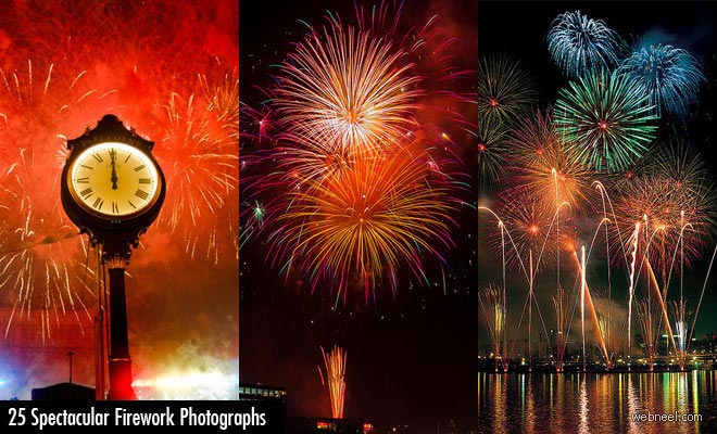 25 Spectacular Firework Photography examples and Tips for beginners