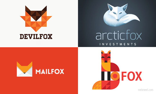 40 Creative Fox Logo Design examples for your inspiration
