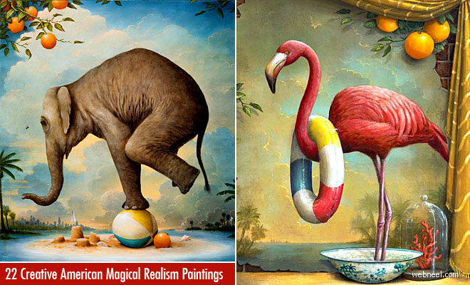22 Creative American Surreal Paintings by Kevin Sloan - Magical Realism