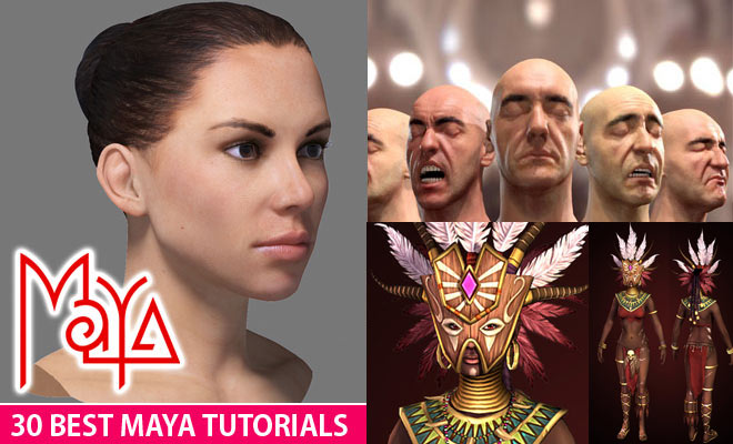 30 Best Maya Tutorials and Instruction Videos for Beginners
