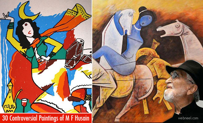 MF Hussain Paintings