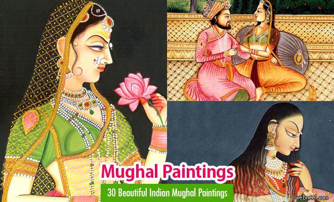 mughal paintings - best images collection