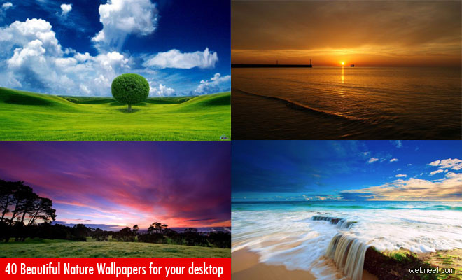 40 Beautiful Nature Wallpapers for your desktop