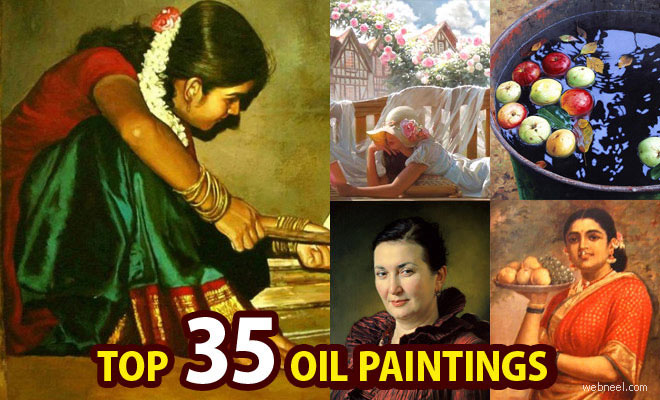 25 Best Oil Paintings from famous artists around the world