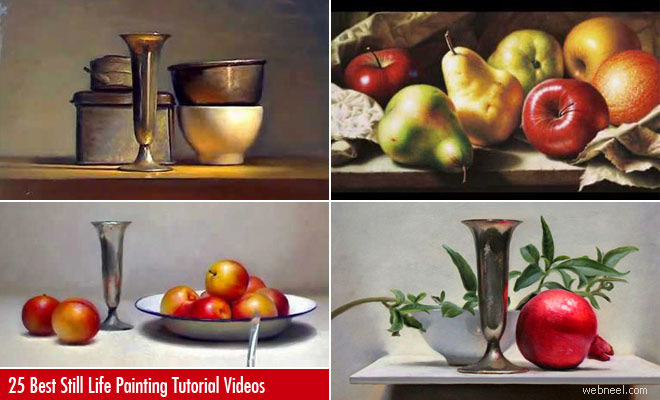 25 Best Still Life Painting Tutorial Videos - Learn from the Masters