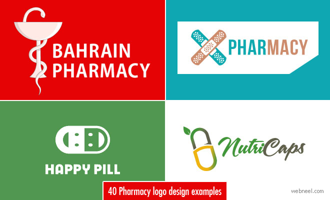 40 Creative and Beautiful Pharmacy Logo Designs for your inspiration