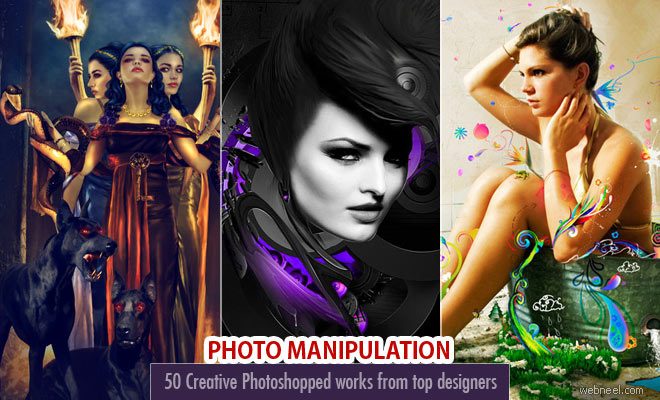 30 Creative and Stunning Photo manipulation art works around the world