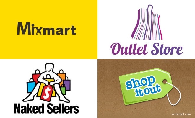 40 Creative Shopping Cart Logo Design examples for your inspiration