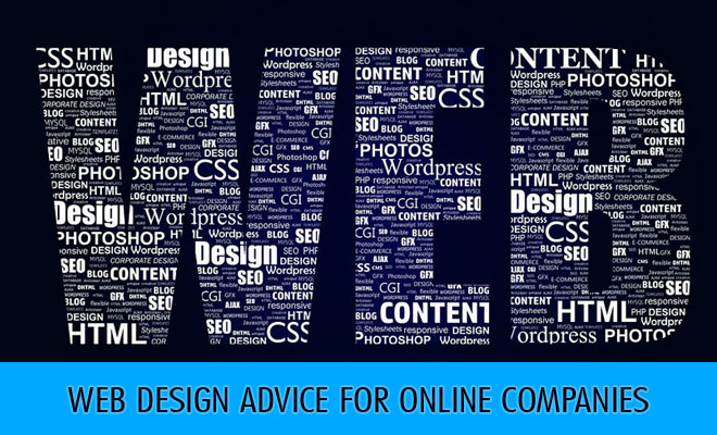 Web Design Advice for Online Companies