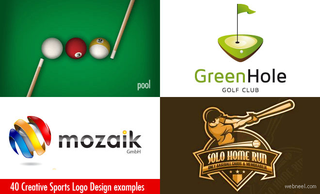 40 Creative Sports Logo Design Ideas for your inspiration