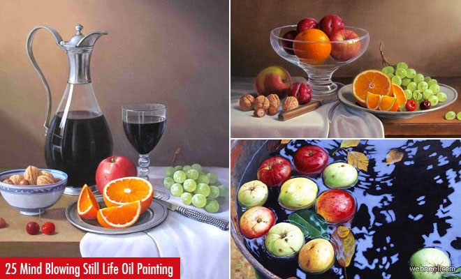 Still Life Oil Paintings