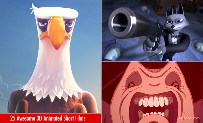 25 Best 3D Animation Short Film videos for your inspiration