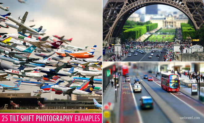 25 Incredible Tilt Shift Photography examples and Tips for Beginners