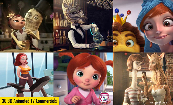 3D Animated TV Commercials