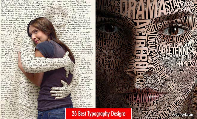26 Best Typography Design Examples for your inspiration