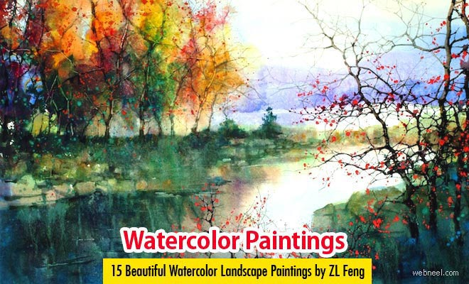 Landscape Watercolor Paintings