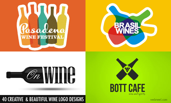 Wine logo designs