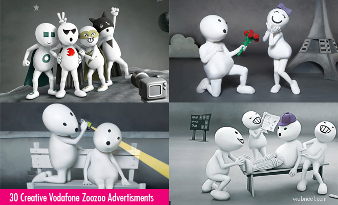 30 Creative Vodafone Zoozoo Ads for your inspiration