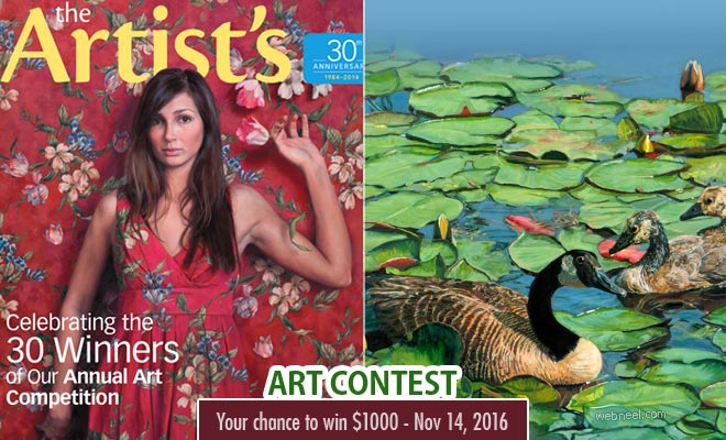 The Artist's magazine - All Media art competition your chance to win $1000