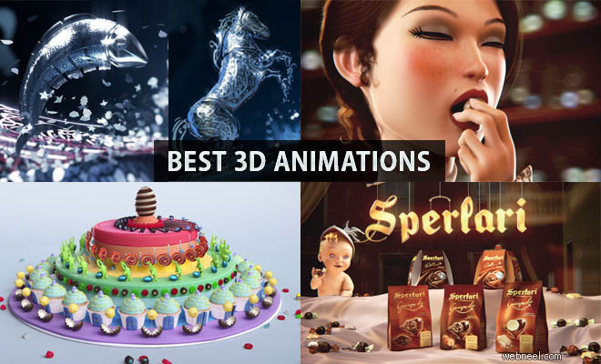 10 Inspiring and Creative 3D Animations and Motion Graphics showcase