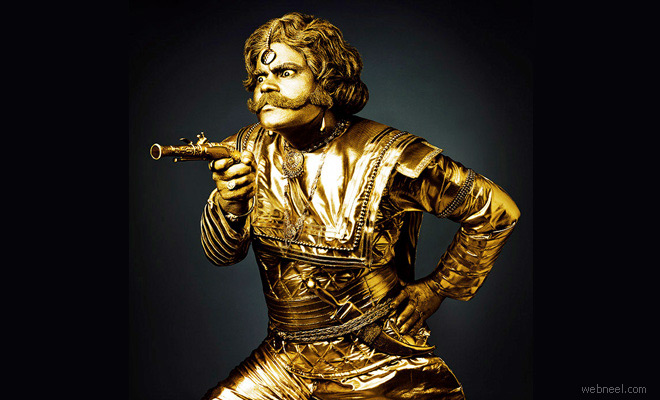 Golden Era Of Theater photographed by Suresh Natarajan - Vodafone Ads