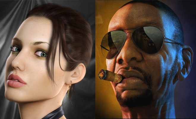 20 Awesome and Realistic 3D Character Designs for your inspiration