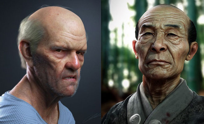 25 Beautiful 3D Model Portraits for your inspiration