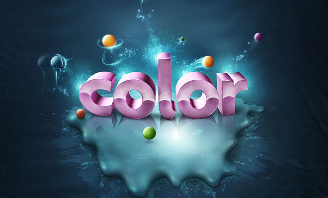 Creative 3D Typography graphics collection