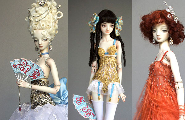 Dolls of Porcelain Beauties by Marina Bychkova - Inspiring Collection