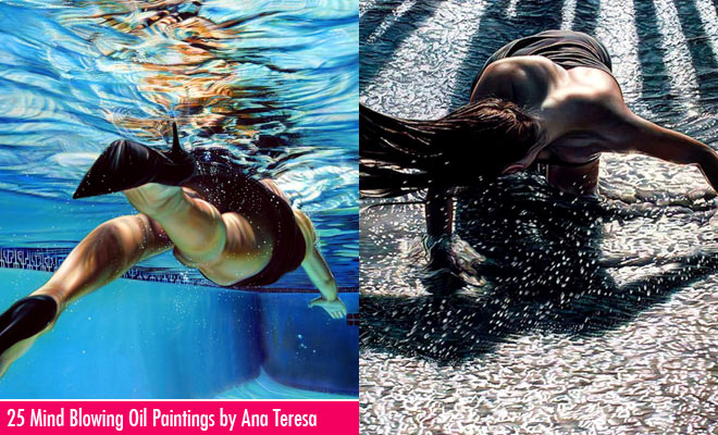 25 Mind Blowing Oil Paintings by Artist  Ana Teresa Fernandez