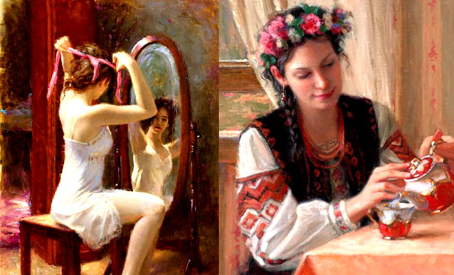 25 beautiful Oil Paintings by Artist Bryce Cameron Liston