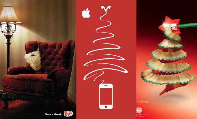25 Creative Christmas Ads Collection for your inspiration