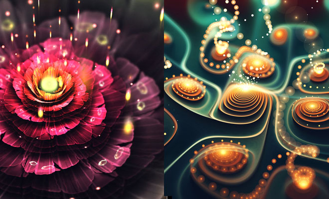 20 Mind Blowing 3D Apophysis Flames design By 3D Artist Chiara