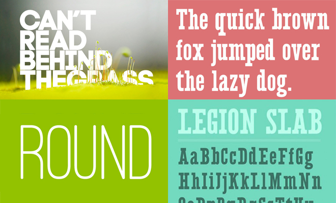 25 New Fonts for Graphic & Web Designers - Download Now
