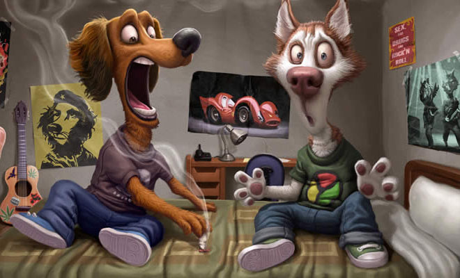 Funny Digital Paintings