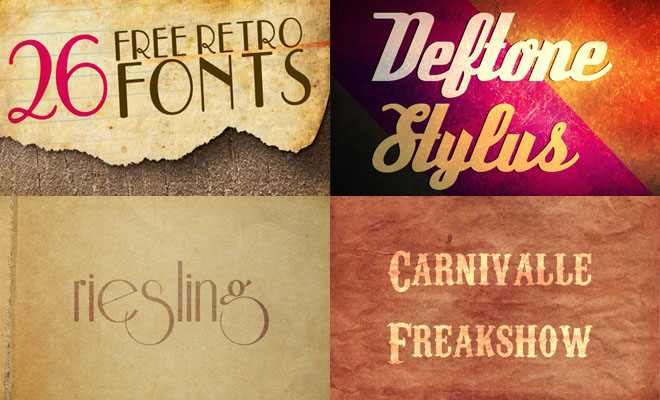thumb%20retro%20fonts 26 Most Beautiful Free Retro Style Fonts for Graphic & Web Designers   Download Now