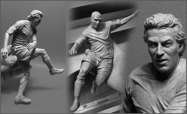 20 Relaistic Sculputres by Adam Beane
