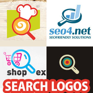 Creative Logo designs for Search theme - 28 logos