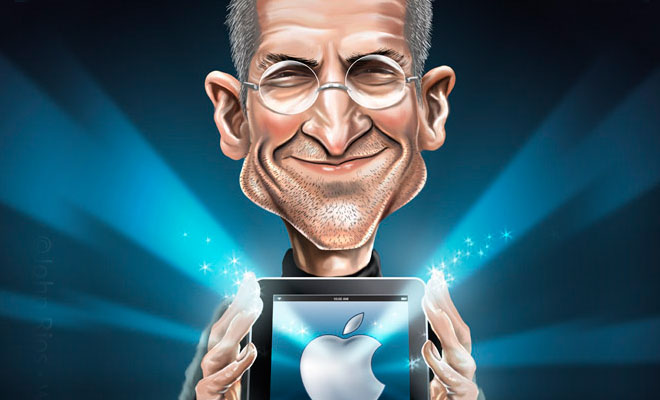 thumb%20setev 25 Steve Jobs Digital Paintings   Inspiring Collection