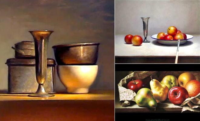 17 Still Life Painting Demonstration Videos