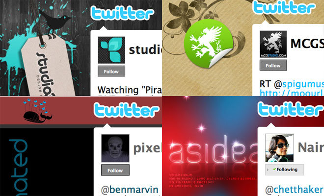 25 Beautiful Twitter themes for your inspiration