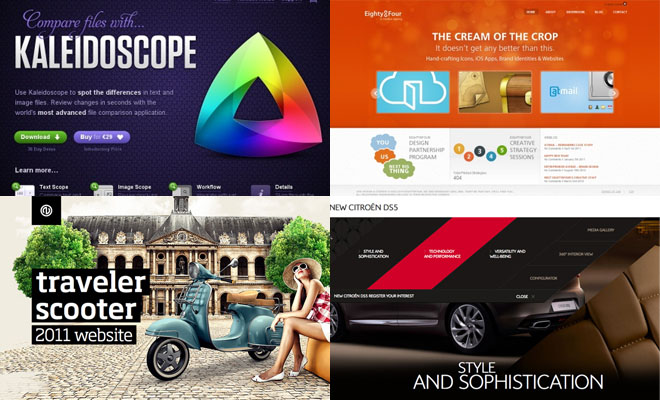 35 Creative Home page designs - Web Design Showcase