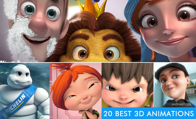 15 Best 3D Animation Short Films, Animation videos and TV Commercials
