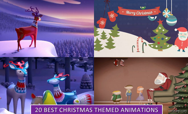20 Best Christmas themed 3D Animation Short Films and Greeting cards