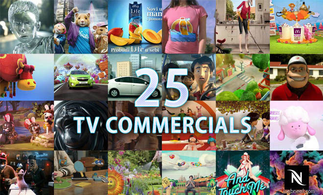 25 Best 3D Animated TV Commercial Videos for your inspiration